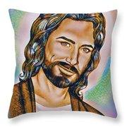 Nobody Like Him Throw Pillow