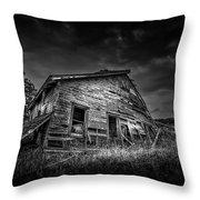 Nobody's Home Throw Pillow