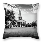 Leavell Chapel New Orleans Baptist Theological Seminary Throw Pillow