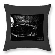 Nocturnal Caress Throw Pillow