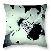 Nocturnal Pansies  Throw Pillow