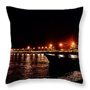 Nocturne Boat Throw Pillow