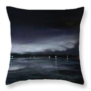 Nocturne, Claytor Lake Throw Pillow