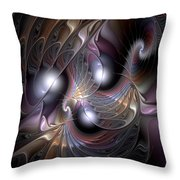 Nocturne For New Orleans Throw Pillow