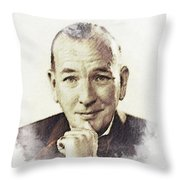 Noel Coward Throw Pillow