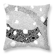 Noetic Throw Pillow