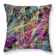 Noise No.3 Throw Pillow