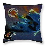 Noize Throw Pillow