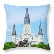 Nola - Jackson Square Throw Pillow