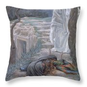 Noli Me Tangere Throw Pillow
