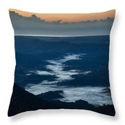 Nomad's Valley Throw Pillow