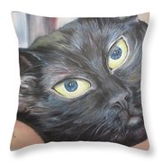 Nomi Chan Throw Pillow