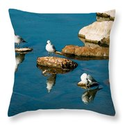 Non-conformist Throw Pillow by Betty LaRue