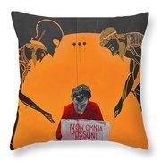 Non Omnia Possunt Omnes Throw Pillow