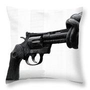 Non Violance Throw Pillow