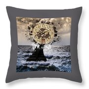 Nonspatial Continuum Throw Pillow