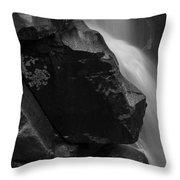 Nooksack River Falls Throw Pillow