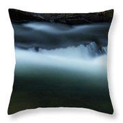 Noontootla Creek #3 Throw Pillow