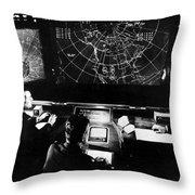 Norad Headquarters, 1964 Throw Pillow
