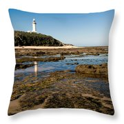 Norah Head Lighthouse Throw Pillow