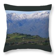 Nordhoff Ridge Throw Pillow