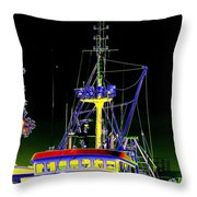 Nordic Fury Throw Pillow