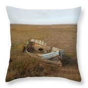 Norfolk Coast Throw Pillow