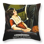 Norma Talmadge In The Probation Wife 1919 Throw Pillow