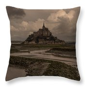 Normandy Clouds Throw Pillow