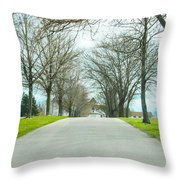 Norristown Farm Park Over The Rise Throw Pillow