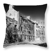 Norristown State Hospital Throw Pillow