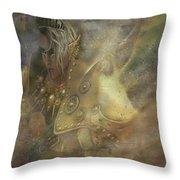 Norse Warrior Throw Pillow
