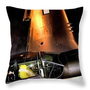 North American P-51d Mustang Throw Pillow