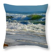 North Atlantic Splendor Throw Pillow