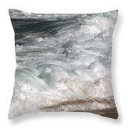 North Beach, Oahu II Throw Pillow
