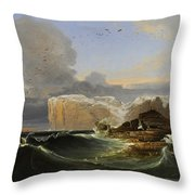 North Cape Throw Pillow