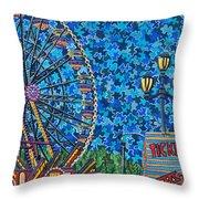 North Carolina State Fair 6 Throw Pillow