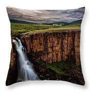 North Clear Creek Falls Throw Pillow
