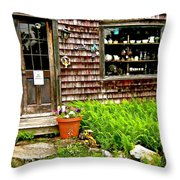 North Country Antiques Throw Pillow