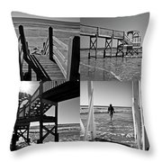 North End Moments Throw Pillow