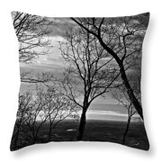 North Georgia View  Throw Pillow