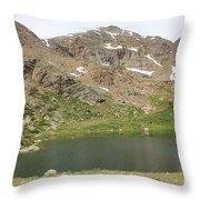 North Halfmoon Lake 2 Throw Pillow