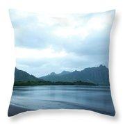 North Kaneohe Bay Throw Pillow
