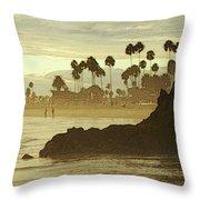 North Laguna Beach Throw Pillow