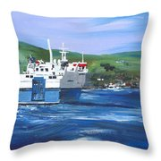 North Link - Stromness Throw Pillow