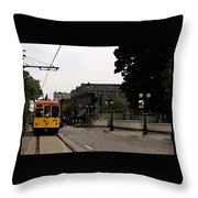 North Little Rock Argenta District Throw Pillow