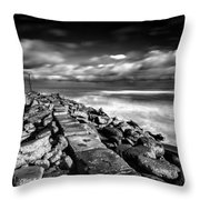 North Mole Throw Pillow