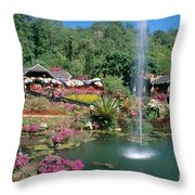 North Of Chiang Mai Throw Pillow