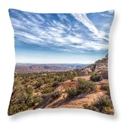 North Of Moab Throw Pillow