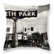 North Park San Diego Throw Pillow